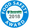 Image of the Food Safety Award Window Sticker