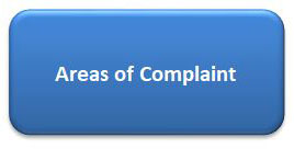 Areas of Complaint