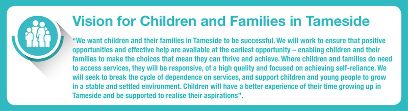 Vision for Children and Families in Tameside