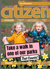 The Spring 2020 cover of the Tameside Citizen