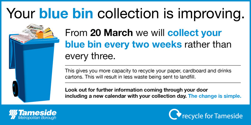 Blue Bin Collection