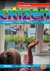 The Special Edition cover of the Tameside Citizen