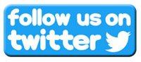 Images of blue birds following a Twitter blue bird holding a 'Follow Me' sign