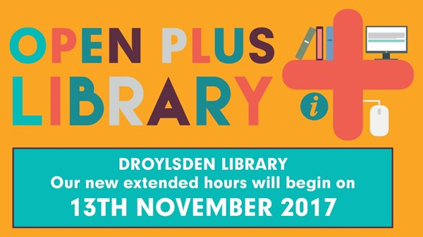 Droylsden Library Open+
