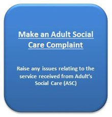 Make an Adult Social Care Complaint