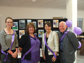 Staff at Elder Abuse Day