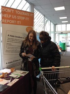 Outreach Stand at ASDA