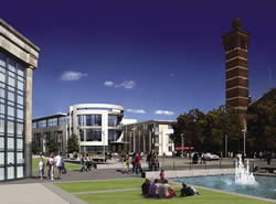 Artists impression of the St. Petersfield development