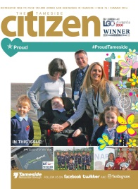 The Summer 2016 cover of the Tameside Citizen