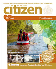 The Spring 2016 cover of the Tameside Citizen