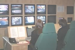 Image of the Tameside CCTV Control Room