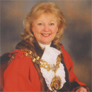 Photograph of Councillor Jean Brazil, Civic Mayor of Tameside