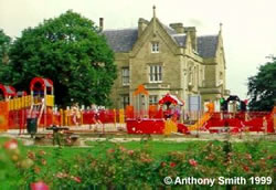 Childrens play area at Ryecroft Hall