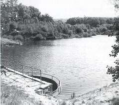photograph of Knott Hill Reservoir, Ashton/Mossley