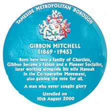 Graphic - Gibbon Mitchell Blue Plaque