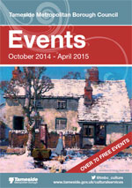 Events leaflet cover