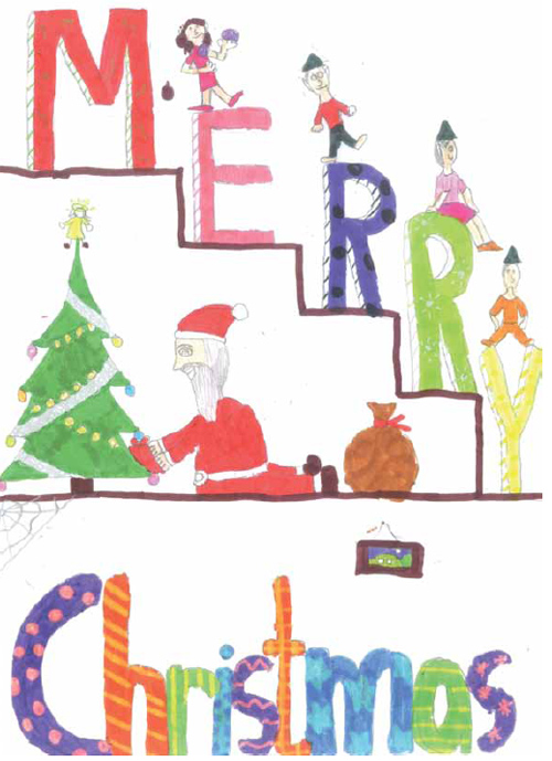Christmas Card Design Ideas For Kids Www.imgkid.com   The Image Kid Has