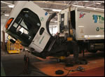 Image of a Lorry being worked on