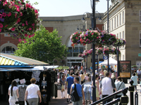 Ashton Town Centre, Summer 2008