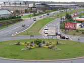 Wellington Road/Lord Sheldon Way Roundabout, Summer 2007