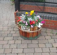 St Mary's Primary School, Droylsden, planter competition entry