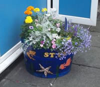 St Peter's Primary School, Ashton, planter competition entry