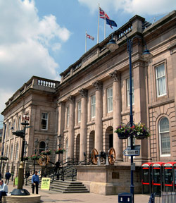 a photograph of Ashton Town Hall