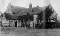 archive photograph of the Old Hall Chapel, Dukinfield