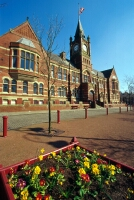 a photograph of the front of Dukinfield Town Hall