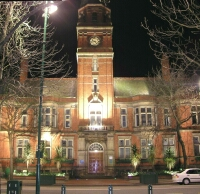Photograph of Hyde Town Hall