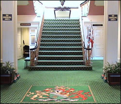 Picture of Ashton Town Hall foyer