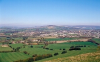 photograph showing the view from Werneth Low