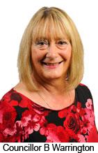 Councillor B Warrington