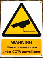 picture of a Close Circuit Television Camera (CCTV) Sign
