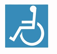 picture of a disabled sign