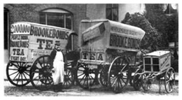 Photo of delivery Wagons