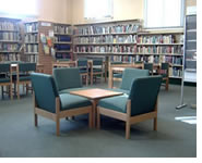 Photograph of the reading room