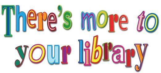 There's more to you library logo