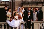 Image of a wedding party