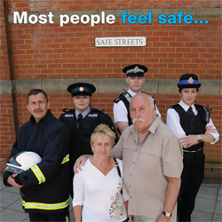 Most people feel safe