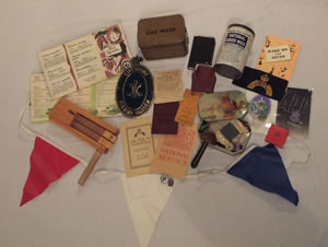 Second World War loan box