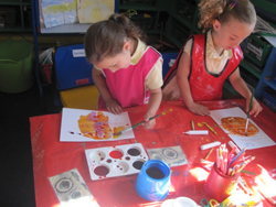 pupils painting