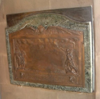 Photograph of Sculpture Hall Plaque