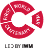 First World War Cetenary logo