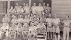 Sergeants mess members, Malta, August 1940