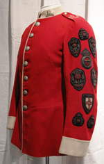 John Frankland's Tunic after conservation