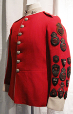 Sergeant Simpson's Tunic after conservation
