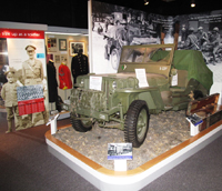 Photograph of Jeep in Forshaw Gallery