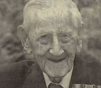 Mike Lally aged 104