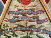 Part of 'Colour' from regimental collection